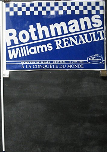 1996-renault-formula-one-pennant-rothmans-williams