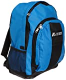 used basis peak - Everest Luggage Backpack with Front and Side Pockets, Royal Blue/Black, Large