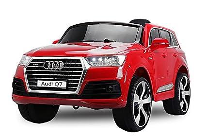Kinderfahrzeuge Kinder Elektro Auto Audi Q7 2x35W 2x6V Elektroauto Kinderfahrzeug Ferngesteuert