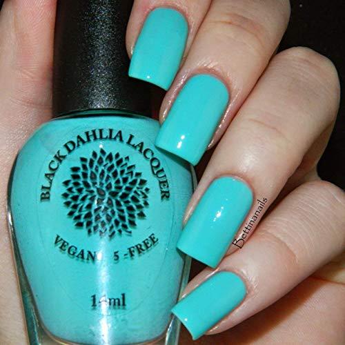 Amazon.com: Teal Hydrangea | Mint Blue Green Vegan Nail Polish | by ...