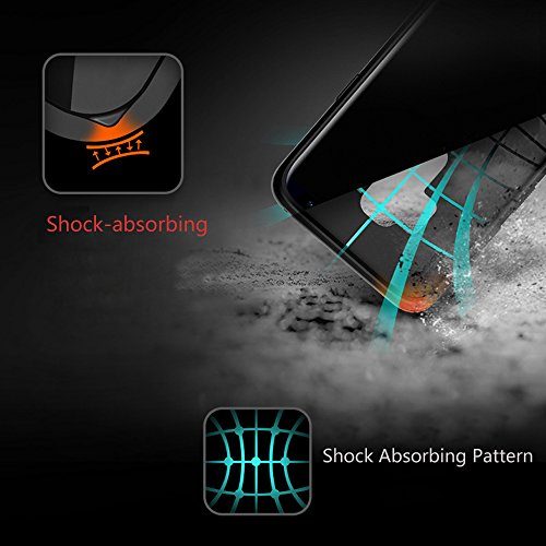 Docooler Cuero de PU Protector Carcasa de Telefono para Samsung Galaxy S9 Negro