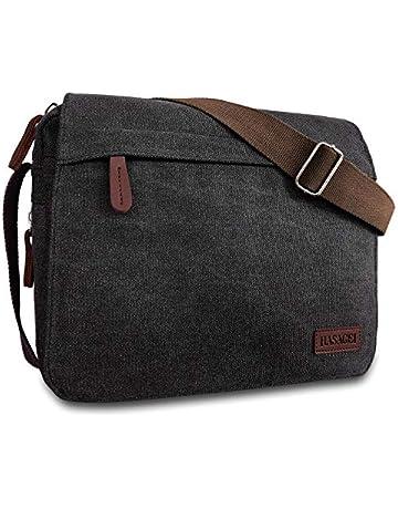 f3bba738 HASAGEI Mens Canvas Messenger Shoulder Bag Mens Messenger Bags Retro Canvas  Crossbody Bag Laptop Bag Satchel