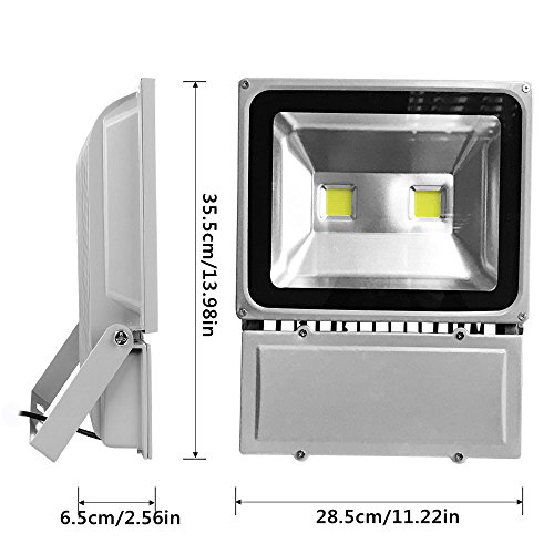100w Craft Led Flood Lights Super Bright Work Lights: GLW Super Bright 100W LED Flood Light,IP65 Waterproof
