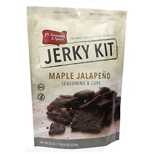 PS Seasoning & Spices Jerky Kit - Maple - Jerky Garlic Spice