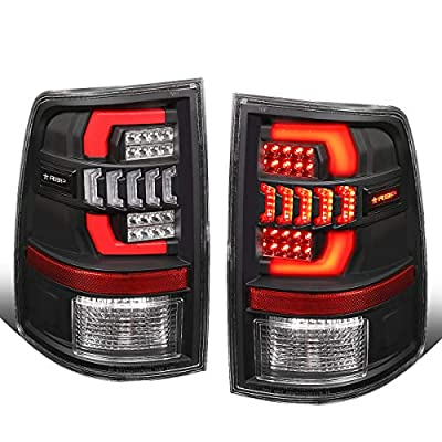 RBP TL560-NLD Sequential Turn Signal 3D LED DRL Tail Brake Lights for Dodge Ram 1500 2500 3500 09-18: Automotive