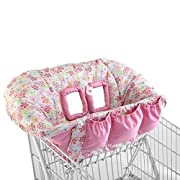 Cozy Cart Cover in Pink Flowers
