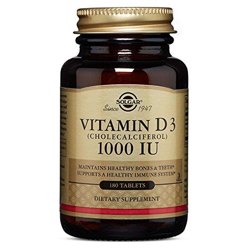 UPC 033984033115, Solgar Vitamin D3 Cholecalciferol 1000 IU Tablets, 180 Count