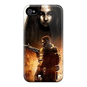 For Williams6541 Iphone Protective Case, High Quality For Iphone 4/4s F E A R 2 Skin Case Cover