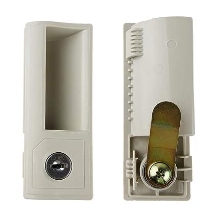 Cerradura de Recambio para taquilla RackMatic de Color Beige
