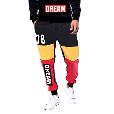 ALIKEEY Pantalón para Hombre Slim Jogging Casual Algodón Negro  Colorespantalones Cortos Casuales Jeans Hombre Rotos 073316df2f197