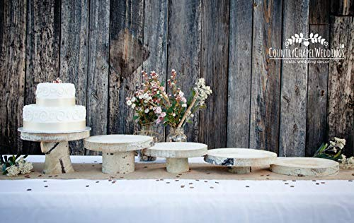 Rustic Cake Stand 8