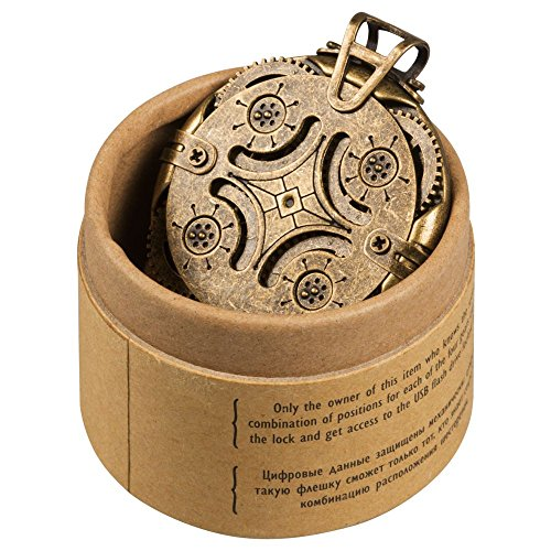 Cryptex Round Lock USB Flash Drive 16 GB