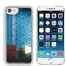 MSD Premium Apple iPhone 6 iPhone 6S Clear case Soft TPU Rubber Silicone Bumper Snap Cases IMAGE 29680660 Vintage lamp in retro blue toned interior Rococo fashion decor Rustic wallpapper Luxurt concep