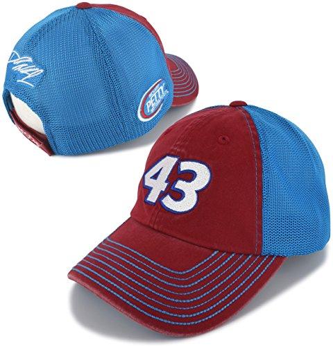 Checkered Flag Darrell Bubba Wallace 2018 Trucker Mesh #43 NASCAR Hat