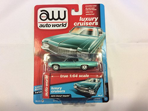 Cars Chevy 1970 (Auto World 64172 1:64 Premium Series Version B 1970 Chevy Impala)