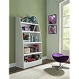 Altra Furniture Kids 4-shelf Bookcase in White Finish