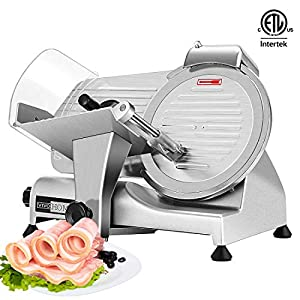 VIVOHOME 110V 320W 10 Inch Heavy Duty Stainless Steel Electric Meat Slicer Machine for Home and Commercial Use ETL… 14