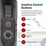 MOZA Mini-S Essential Foldable Gimbal stabilizer for Smartphone Timelapse Object Tracking Zoom Vertigo Inception 3-Axis Video Stabilizer for iPhone Xs/Max/Xr/X/11 Pro Max Samsung Note 9/S9 Huawei 5