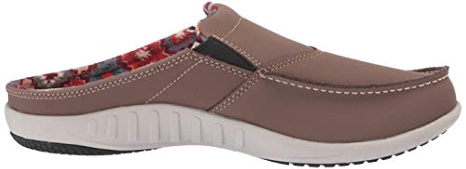 Spenco First Nation Slide Womens Comfort Shoe Mineral - 9 Wide by Spenco (Image #6)