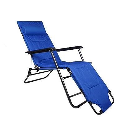 ZXWDIAN Sillón Balcón sillón reclinable Almuerzo Descanso ...