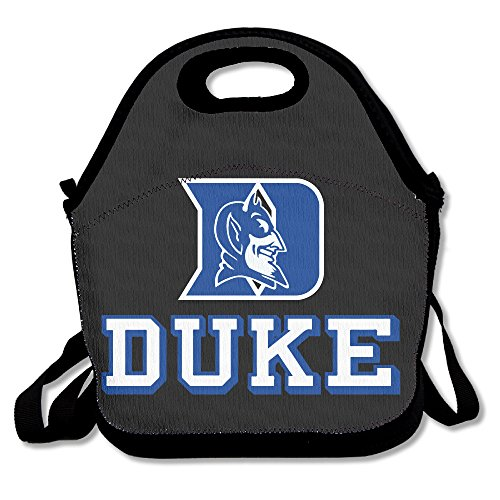 DSYBTV Lunch Bag Duke University Lunch Tote Lunch Box For Women Men Kids With Adjustable Strap