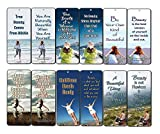 NewEights Bookmarks Cards for Women (60 Pack) - Inspirational Beauty Quotes Bookmark Set - Gifts for Women Wife Mom Daughter Girls Best Friends