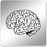 Azeeda 6 x 'Human Brain' 95mm Mirror Coasters (CR00116801)