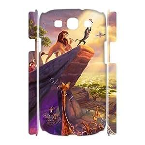 Samsung Galaxy S3 I9300 Case 3D Lion King Diy Case UN025297