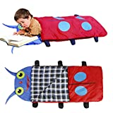 Children Kids Sleeping Bag, OUTAD Camping Gear Equipment Ultralight Compact Packable Bag with Carry Bag