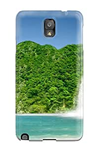 Fashion InfIccy2791zzPBk Case Cover For Galaxy Note 3(earth Waterfall)