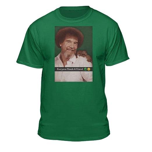 a0b19ca40 Amazon.com: Bob Ross Graphic T-Shirt for Men and Women - Every Bush ...
