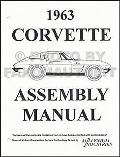 1963 corvette repair shop manual original chevrolet amazon com books rh amazon com 1963 corvette assembly manual pdf 1963 corvette assembly manual pdf