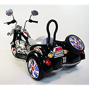 Kids Motorbike Ride On Toy Car For Kids With 12V Battery Operated White. rideONEcar