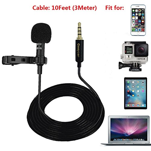 Stereo Condenser Microphone for GoPro Hero 3 3+ 4 Mic Cable Adapter - 2