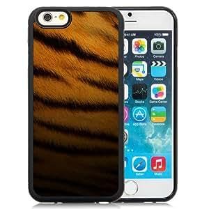 NEW Unique Custom Designed iPhone 6 4.7 Inch TPU Phone Case With Tiger Skin Pattern_Black Phone Case