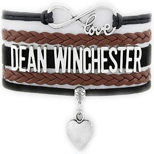 Supernatural Infinity Love Bracelet Collection (Standard, Dean Winchester)