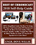 Best Of Chromecast 2018 Self-Help Guide: 100% Simplified Guide On How To Setup All Types And Generation Of Chromecast Device & How To Cast Audio, Video, Podcast, Spotify, Netflix, Google Play Mus...