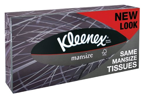 Kleenex 3717705 Men Tissues, White by Kleenex