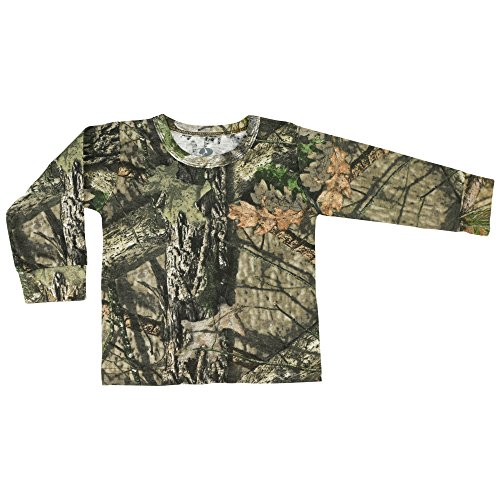 Mossy Oak Hunting Clothes - Mossy Oak Camo Toddler Long Sleeve Tee in Break-up Country