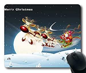 Design Merry Christmas Mouse Pad Desktop Laptop Mousepads Comfortable Office Mouse Pad Mat Cute Gaming Mouse Pad