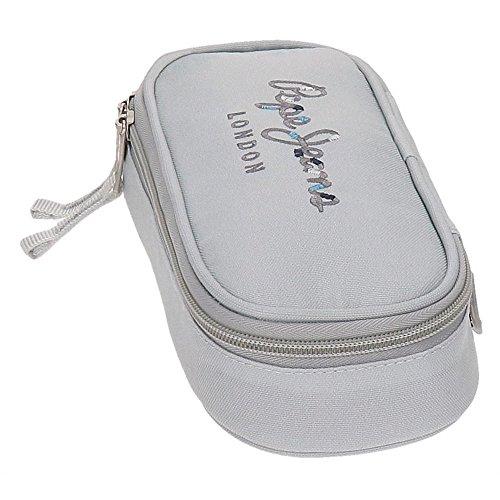 Pepe Jeans Harlow Kosmetikkoffer, 22 cm, 0.99 liters, Grau (Gris) Grau (Gris)