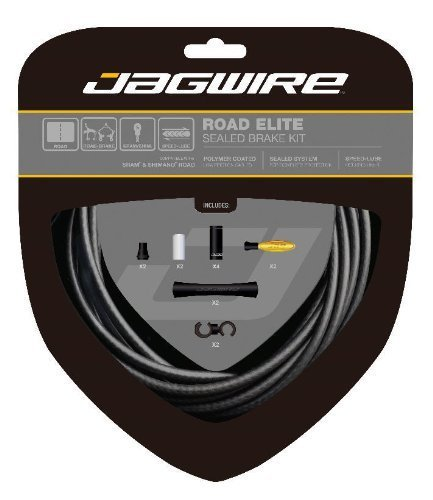 Jagwire Road Elite Sealed Brake KitFrozen, Black