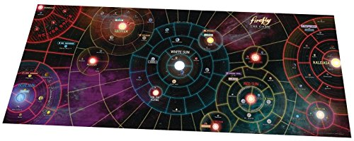 Battlefront Miniature Firefly Whole Damn Verse Mat, 50 x 20 by Battlefront Miniature