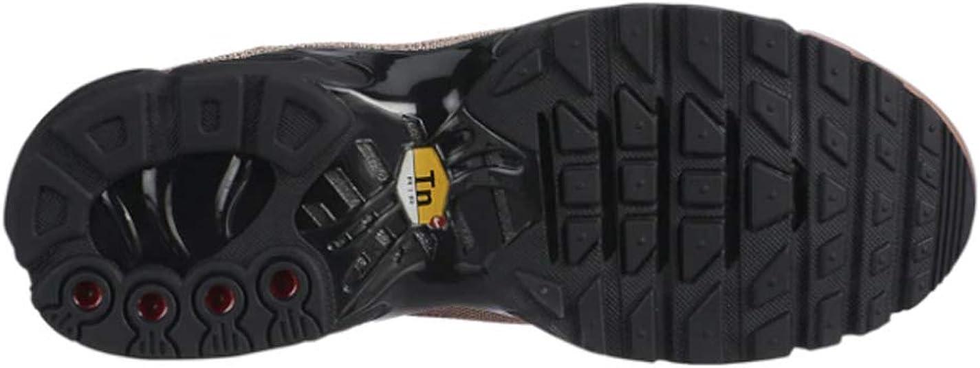 Nike 848891 005 Air Max Plus PRM Chaussures pour Femme, Noir