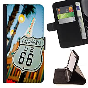 - California Summer Funny/ Personalizada del estilo del dise???¡Ào de la PU Caso de encargo del cuero del tir????n del soporte d - Cao - For Apple Iphone 5C