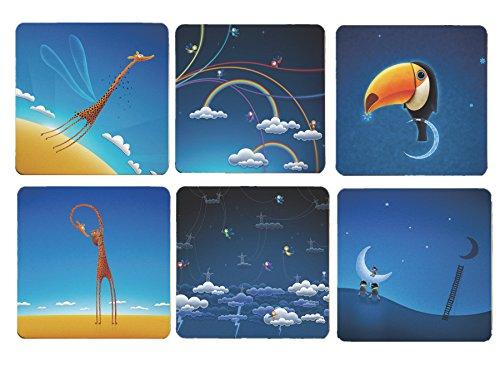 Cimostar Creative Coasters Artistic Fantasy