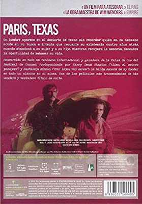 Paris, Texas [DVD]: Amazon.es: Harry Dean Stanton, Nastassja Kinski, Dean Stockwell, Hunter Carson, Wim Wenders, Harry Dean Stanton, Nastassja Kinski: Cine y Series TV