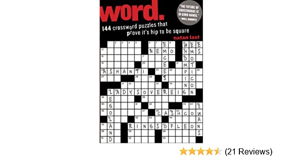 Word : 144 Crossword Puzzles That Prove It's Hip to be