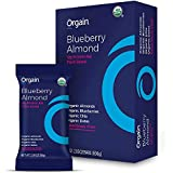 Orgain Simple Organic Protein Bars, Blueberry Almond, Plant Based, Gluten Free, Soy Free, Non-GMO, Organic Fiber, 2.05 Ounce, 12 Count