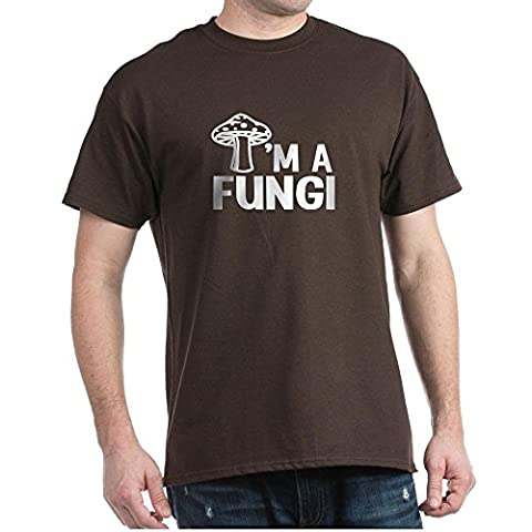 CafePress - I'm A Fungi - 100% Cotton T-Shirt (Movie Cool Dry Place)